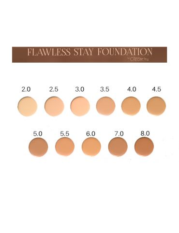 MAQUILLAJE FLAWLESS STAY FOUNDATION BEAUTY CREATIONS