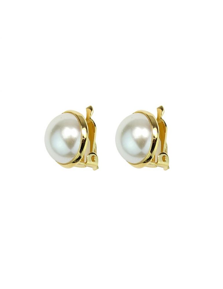 estilo moderno Precio 50% mejor venta Aretes de perla c/clip-exotica